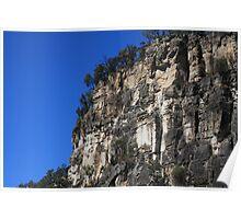Carnarvon Gorge Cliff Poster