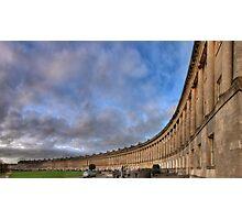 Bath Royal Crescent Photographic Print