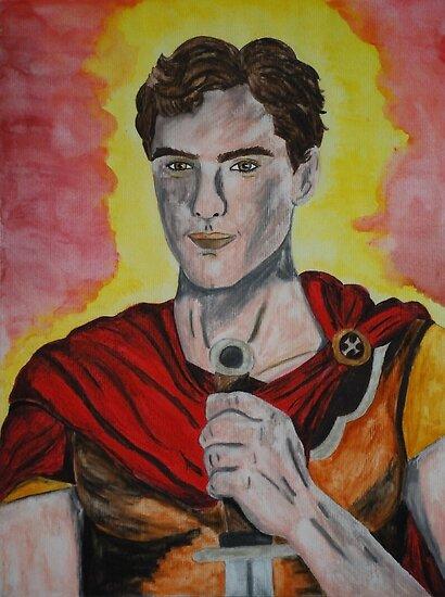Saint Martin of Tours by Rowan  Lewgalon