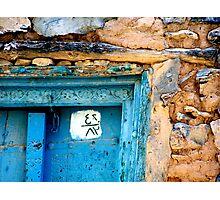 Knocking on heaven's door. Photographic Print