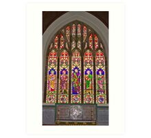 Window #2 East Witton Church Art Print