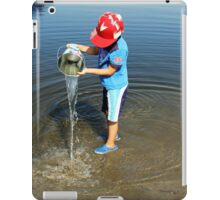 Best Fun Ever - Child Playing In Water iPad Case/Skin