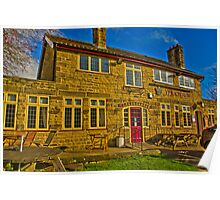 The Crown Inn - Hutton le Hole Poster