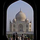 Taj Mahal by Konstantinos Arvanitopoulos