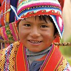 Peruvian boy by Konstantinos Arvanitopoulos