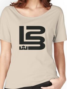 LEBRON JAMES KING NUMBER 23 Women's Relaxed Fit T-Shirt