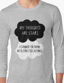 My Thoughts are Stars Long Sleeve T-Shirt