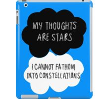My Thoughts are Stars iPad Case/Skin