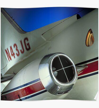 Airplane Fuselage Poster