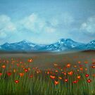 Field of Poppies by Cherie Roe Dirksen