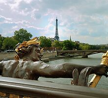 View From The Pont Neuf by Lanis Rossi