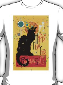 Chat Noir New Years Party Countdown T-Shirt