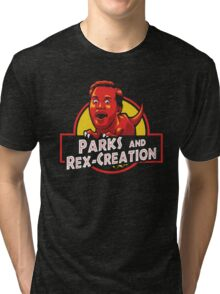 Parks and Rex-Creation Tri-blend T-Shirt
