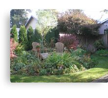 Home Garden Canvas Print