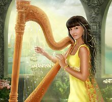 Magic harp by Alena Lazareva