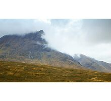 Between Two Glens Photographic Print
