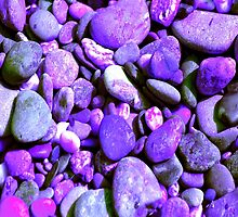 Colorful River Rock by Buckwhite