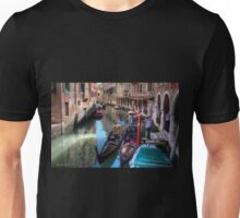 ...waiting for clients in Venice....  Unisex T-Shirt