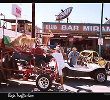 Traffic Jam - Baja Style by Nadya Johnson