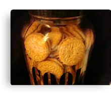 Cookie JAR - Keeping it full   ^ Canvas Print