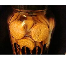 Cookie JAR - Keeping it full   ^ Photographic Print