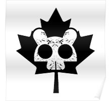 Canadian Everyday - Beaver Skull / Leaf Logo - Canada Day Poster