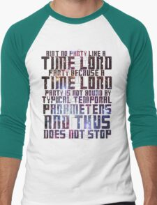 Aint No Party Like a Time Lord Party II T-Shirt