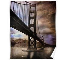 Golden Gate Bridge - Hell of a place to break down Poster