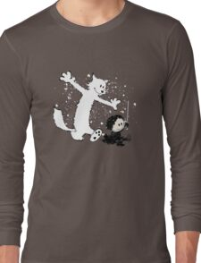 Ghost and Snow Long Sleeve T-Shirt