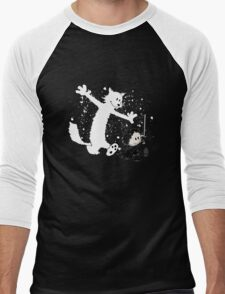 Ghost and Snow Men's Baseball ¾ T-Shirt