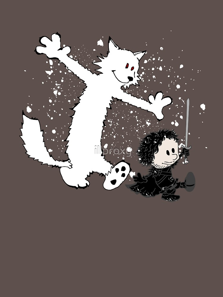 Ghost And Snow T-Shirt thumbnail