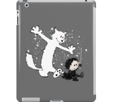 Ghost and Snow iPad Case/Skin