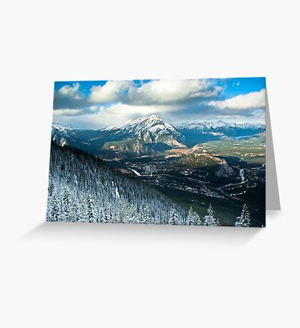 Banff - Alberta  Greeting Card