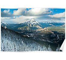 Banff - Alberta  Poster