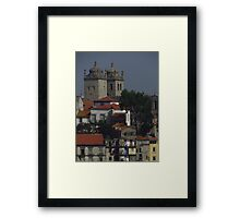 Cathedral Towers, Porto Framed Print