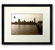 london films Framed Print