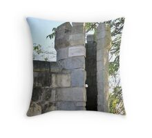 Tree and Turret Throw Pillow