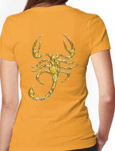 Scorpion, Scorpio, Tattoo Style Womens Fitted T-Shirt