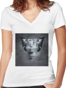 No Title 106 Women's Fitted V-Neck T-Shirt