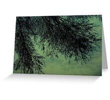 """Trees are the earth's endless effort to speak to the listening heaven"" Greeting Card"