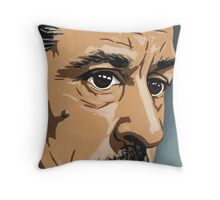 Robert De Niro - Heat 4 Throw Pillow