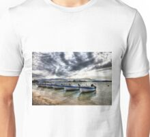 Lefkas Harbour Boats Unisex T-Shirt