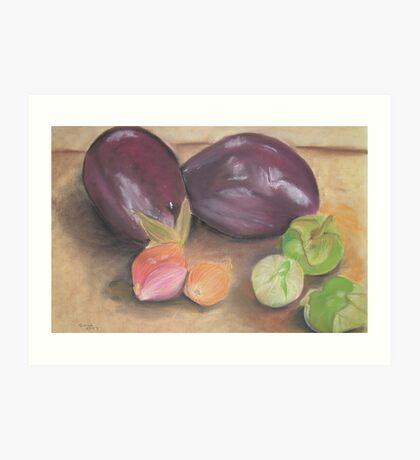 From A Gourmet Kitchen Art Print