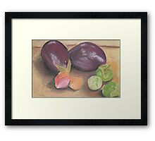 From A Gourmet Kitchen Framed Print