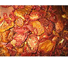 Dried Tomatoes Photographic Print