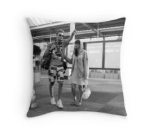 Let's go! ~ Not yet!  Throw Pillow
