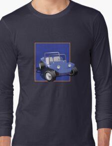 Blue Dune Buggy Blue Box Long Sleeve T-Shirt