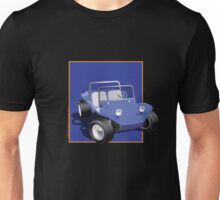 Blue Dune Buggy Blue Box Unisex T-Shirt