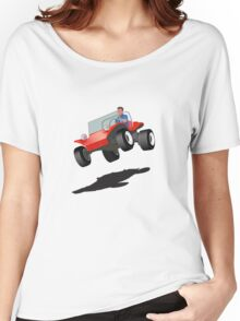 Dune Buggy Manx Jump Women's Relaxed Fit T-Shirt