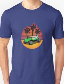 Dune Buggy Manxter Sunset Unisex T-Shirt